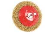Spazzola conica in filo ondulato con gambo