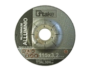 Mola abrasiva centro depr. taglio alluminio AB4120