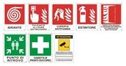 Cartello segnaletico sicurezza