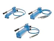 Pompe manuali con tubo flessibile e giunto rapido